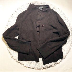St. John Blazer Knit Sweater Women's Size 16